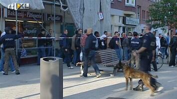RTL Nieuws Jongeren belagen politie na schietpartij Rotterdam