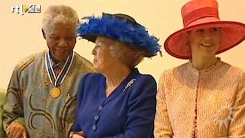RTL Boulevard Nelson Mandela en bijzondere band met de Oranjes