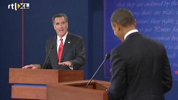 RTL Nieuws Het debat tussen Obama en Romney in drie fragmenten