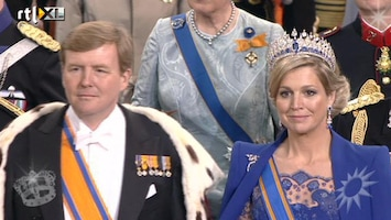RTL Boulevard Willem-Alexander ingehuldigd als koning