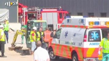 RTL Nieuws Tien gewonden bij brand Schiphol