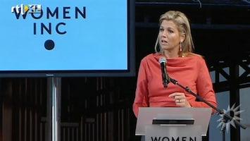 RTL Boulevard Máxima opent Women Inc. Festival