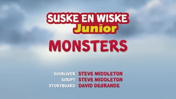 Suske En Wiske Junior - Monsters