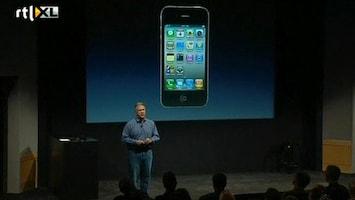 RTL Nieuws Geen iPhone 5, maar nieuwe iPhone 4