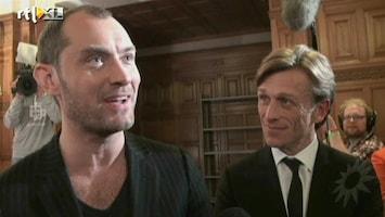 RTL Boulevard Jude Law in Nederland