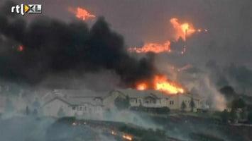 RTL Nieuws 32.000 mensen geëvacueerd door bosbranden Colorado
