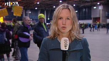 RTL Nieuws Protest boze leraren in Utrecht