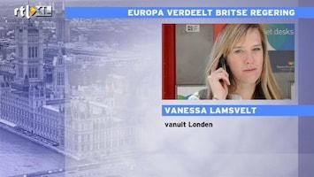 RTL Nieuws Europa verdeelt Britse regering