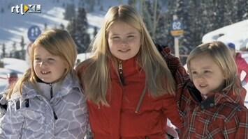 Editie NL Amalia wil sneeuwbal gooien naar pers