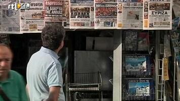 RTL Nieuws Griekenland mogelijk uit eurozone