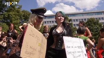 RTL Nieuws 'Slettenloop' tegen homofobie in Berlijn