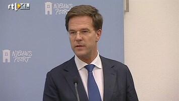 RTL Nieuws Rutte door het stof na aanpassing akkoord