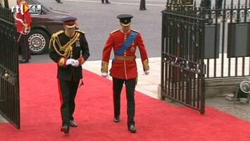 RTL Nieuws Aankomst Prins William in kerk