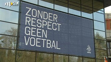 RTL Nieuws Clubs houden zich niet aan 'respect-handvest'