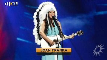 RTL Boulevard Joan Franka voelde zwart gat na Songfestival