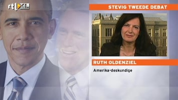 RTL Nieuws Oldenziel: Obama na debat weer licht favoriet