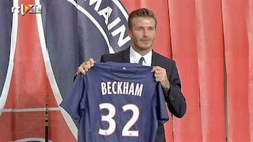 RTL Nieuws David Beckham stopt met voetballen