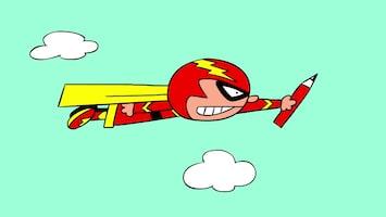 Doodle Doodle superhero