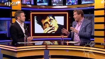 RTL Boulevard Holly Brood zingt duet met vader
