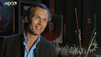 RTL Boulevard Schilder Larsson portretteert Zweedse koningin Silvia