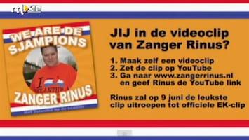Editie NL Zanger Rinus maakt EK-single