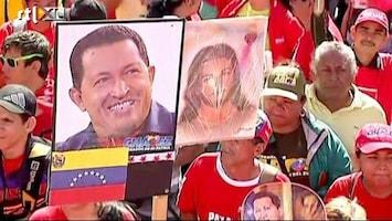 RTL Nieuws Aanhang Chavez massaal de straat op