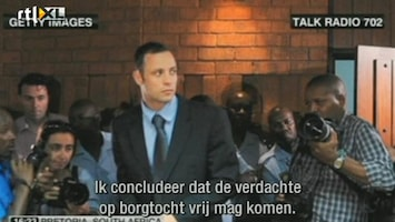 RTL Boulevard Oscar Pistorius op borgtocht vrij