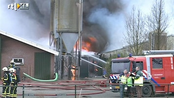 RTL Nieuws 1300 varkens omgekomen bij brand Nederweert
