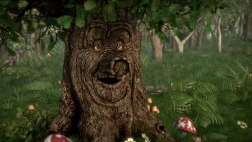 Sprookjesboom De muziekpaddenstoel