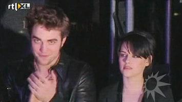 RTL Boulevard Robbert Pattinson en Kristen