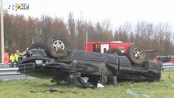 RTL Nieuws A4 afgesloten na dodelijk ongeval