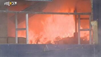 RTL Nieuws Grote brand in Zaandam