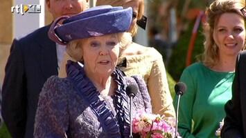 Editie NL Beatrix bedankt Nederland