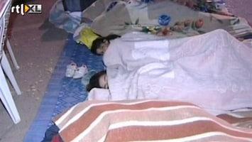 RTL Nieuws 30.000 Spanjaarden slapen op straat
