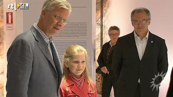 RTL Boulevard Prins Filip op stap met dochter Elisabeth