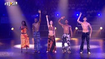 The Ultimate Dance Battle Krachtig Zwart Wit van Rinus