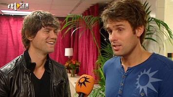 RTL Boulevard Nick & Simon backstage bij Symphonica