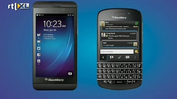 RTL Nieuws Nieuwe telefoon moet Blackberry redden