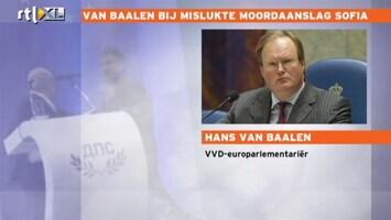 RTL Nieuws Van Baalen over aanslag: 'Geen tijd om te schrikken'