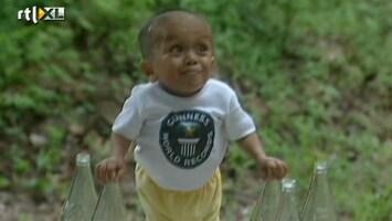 RTL Nieuws Wordt dit de kleinste man ter wereld?