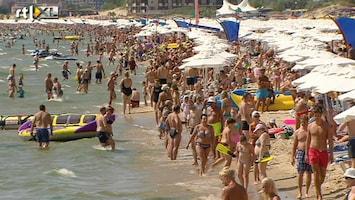 RTL Nieuws Jongeren massaal naar strand Bulgarije