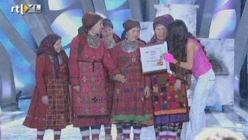 RTL Nieuws Rusland stuurt oma's naar Songfestival