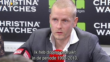 Editie NL Rasmussen geeft dopinggebruik toe