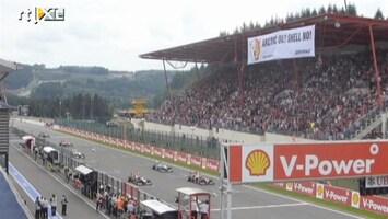 RTL Nieuws Greenpeace verstoort Formule 1 in Spa