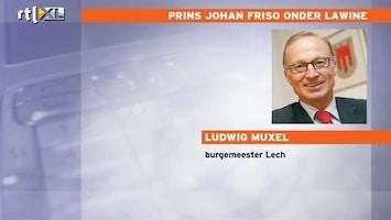 Editie NL Burgmeester Lech over Prins Johan Friso