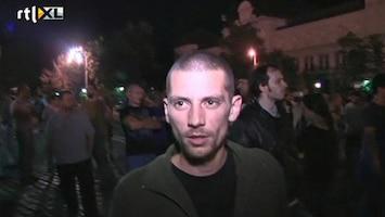 RTL Nieuws Politie Bulgarije bevrijdt politici uit parlement