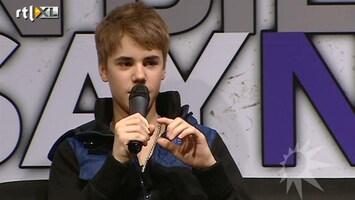 RTL Boulevard Justin Bieber beroemd op social media