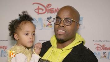Jandino en kids ontmoeten hun favoriete Disney figuren
