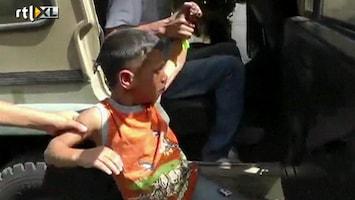 RTL Nieuws 5-jarig Palestijns jongetje opgepakt