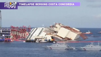 RTL Nieuws Timelapse Costa Concordia